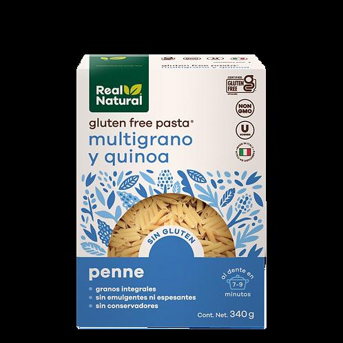 Penne de Quinoa y Multigrano Sin Gluten