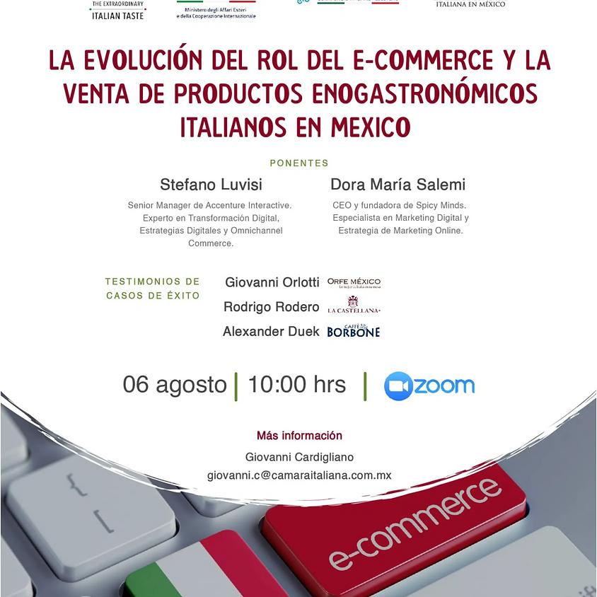 True Italian Taste: Webinar – La evolución del rol del e-commerce y la venta de productos enogastronómicos en México