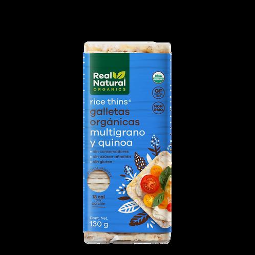 Rice Thins Galletas Orgánicas de Multigrano y Quinoa