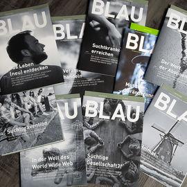 Magazin Blau