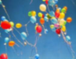 fliegede Ballons