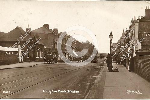 Brockley Road Crofton Park Station + Shops - Print