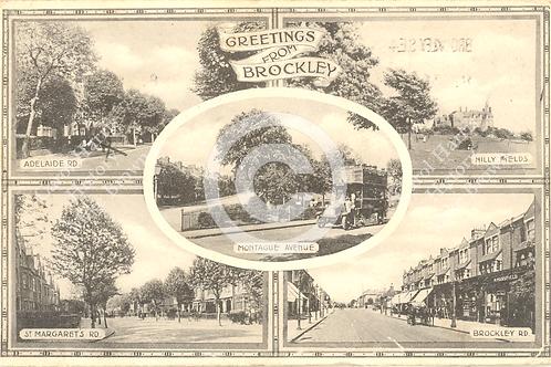 Greetings From Brockley - Print