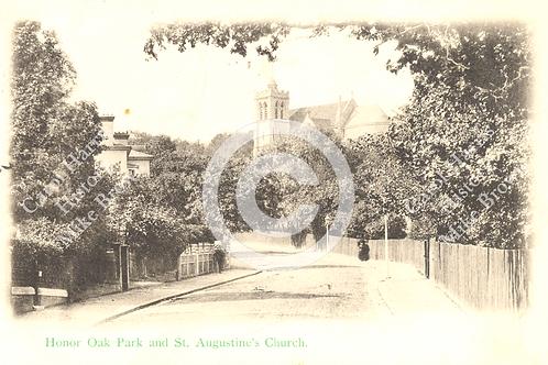 St. Augustine's Church, Honor Oak Park - Print
