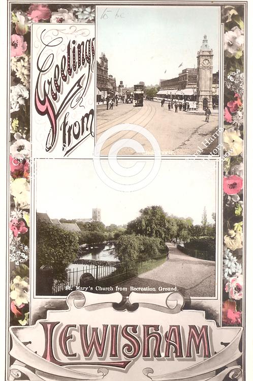 Greetings Lewisham - Print