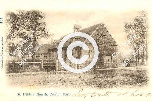St. Hilda's church hall - Print