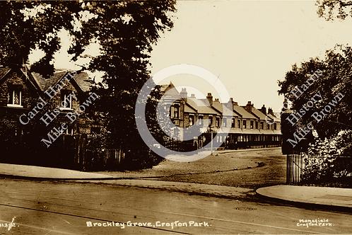 Brockley Grove from Brockley Road- Print