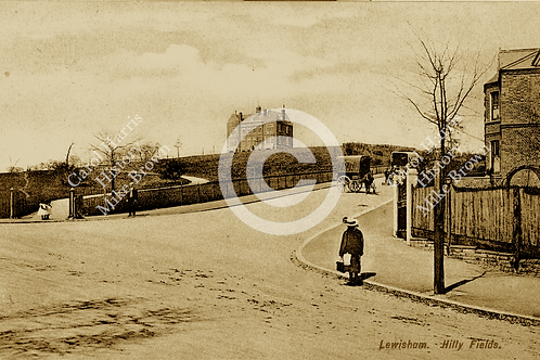 Hilly Fields, Vicars Hill - Print