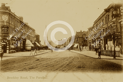 The Parade, Brockley Road - Print
