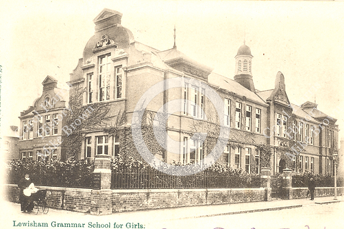 Lewisham Grammer School for Girls (Prendergast) - Print