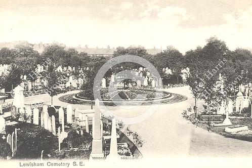 Brockley Cemetery - Print