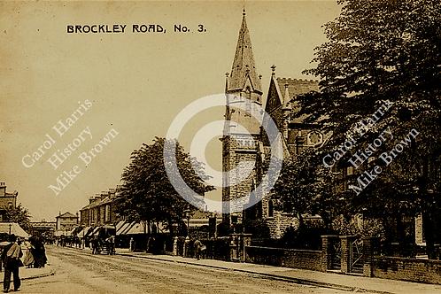 Methodist Church, Harefield/Brockley Roads (now Royal Mail building) - Print