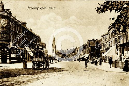 Chappells, Brockley Road - Print
