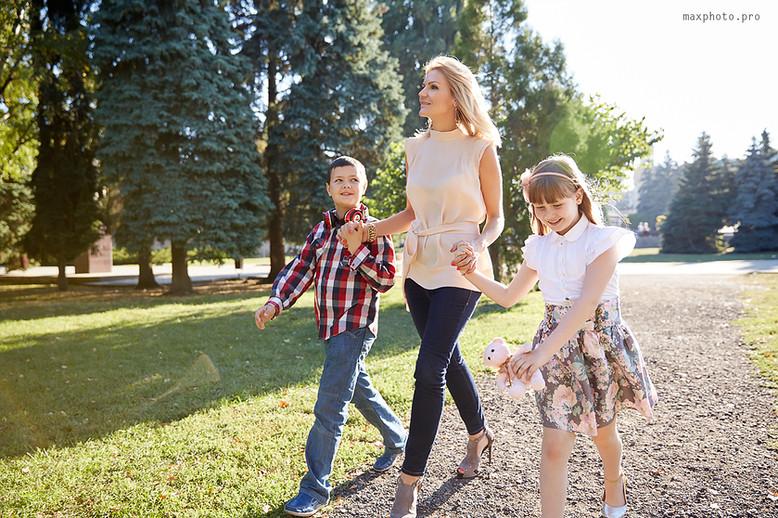 Прогулка с детьми на природе