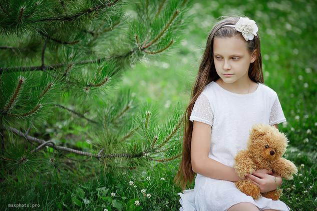 Весенние детские фотосессии