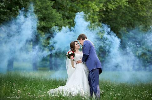 Свадьба в ботаническом саду