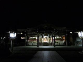 白山比咩神社 1日参り
