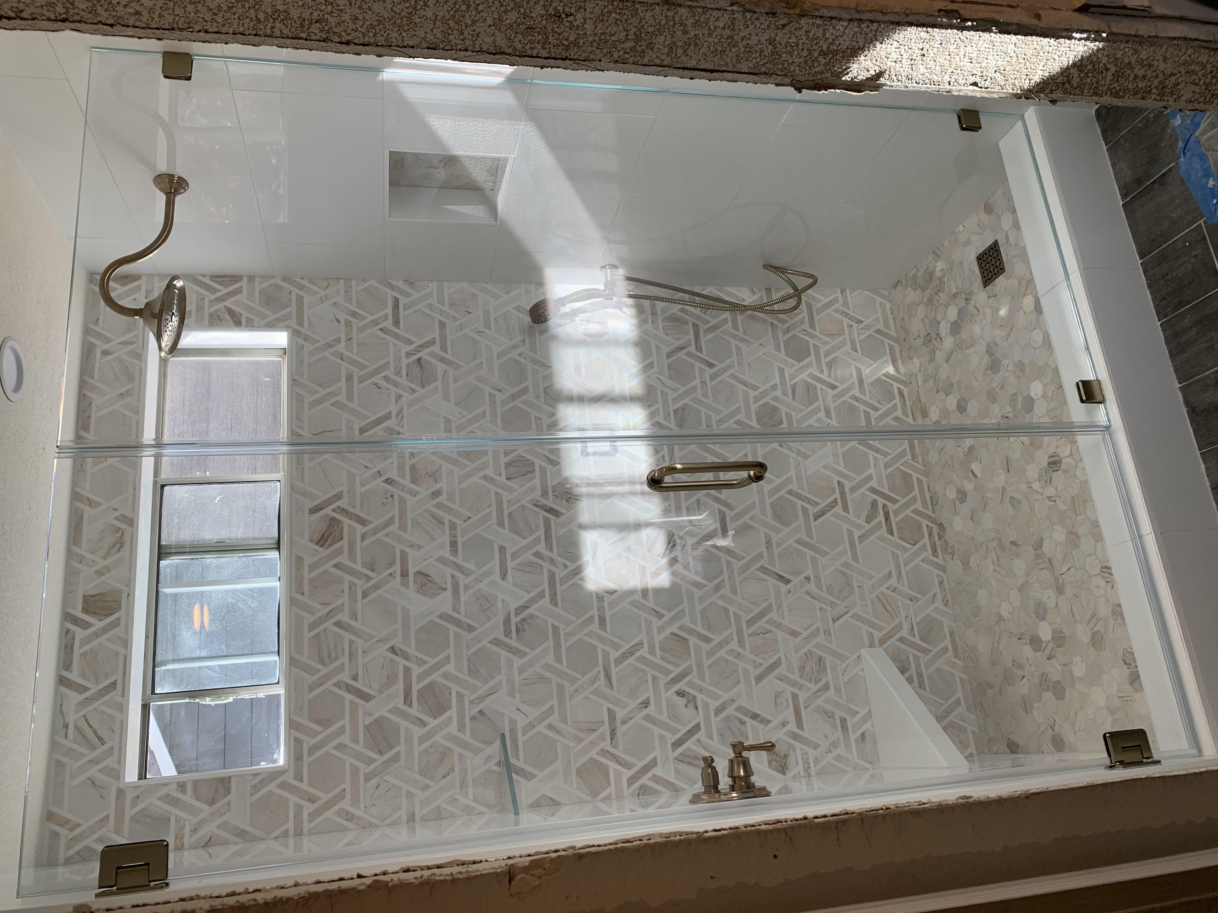 starphire shower door