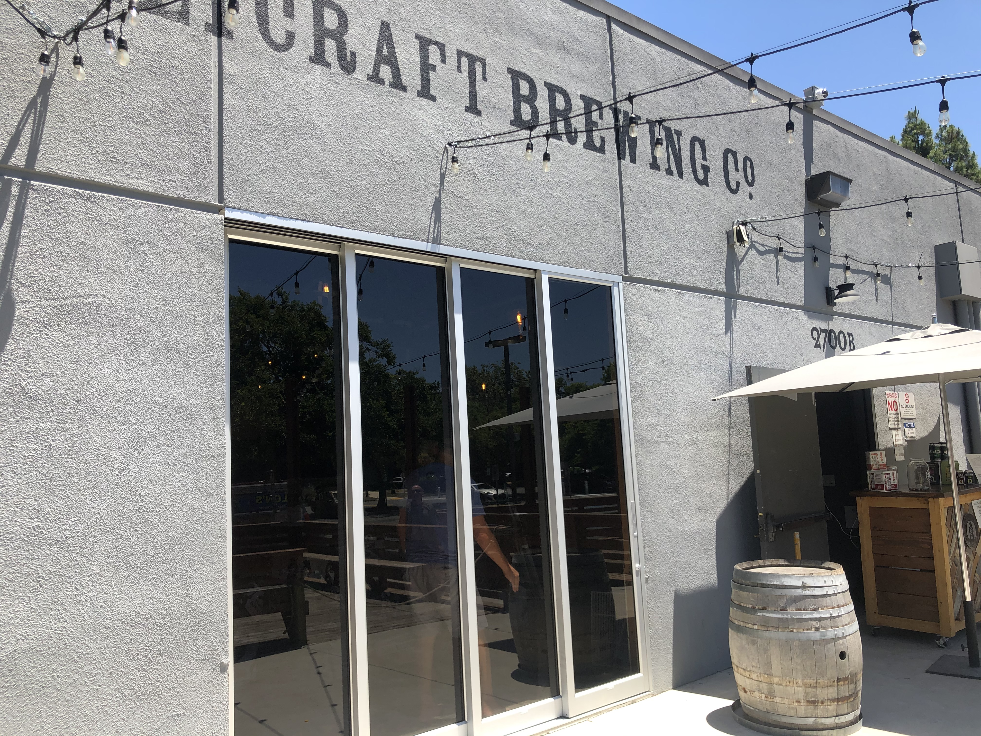 brewery storefront