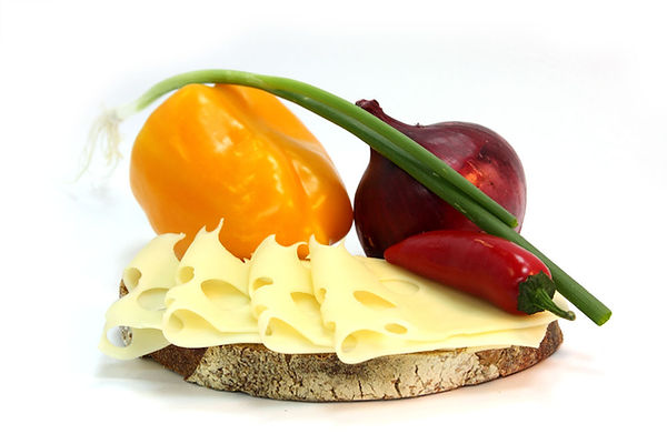 Cheese Lunch Ingredients