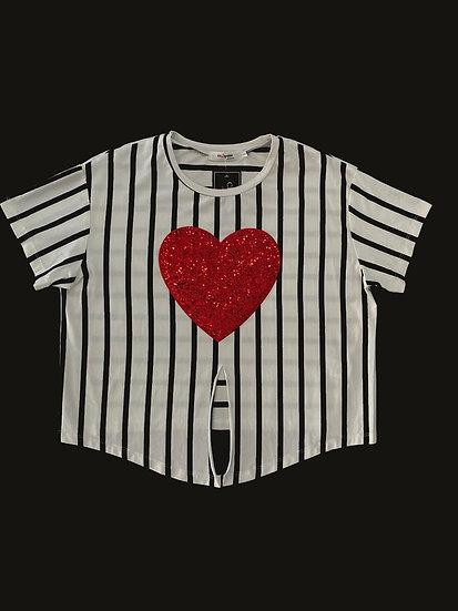 T-shirt Rayas