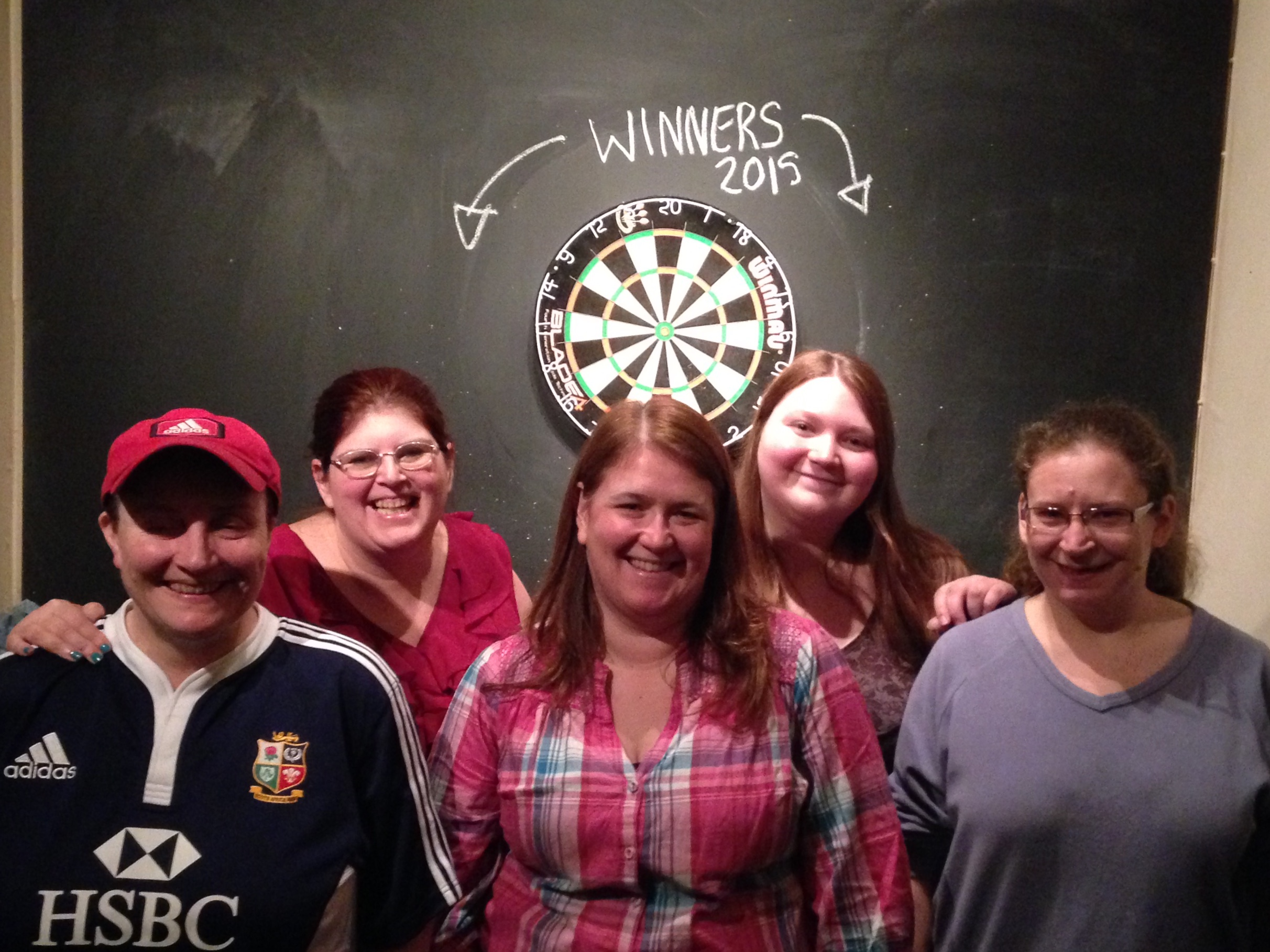 Darts League Winners 2015 - team