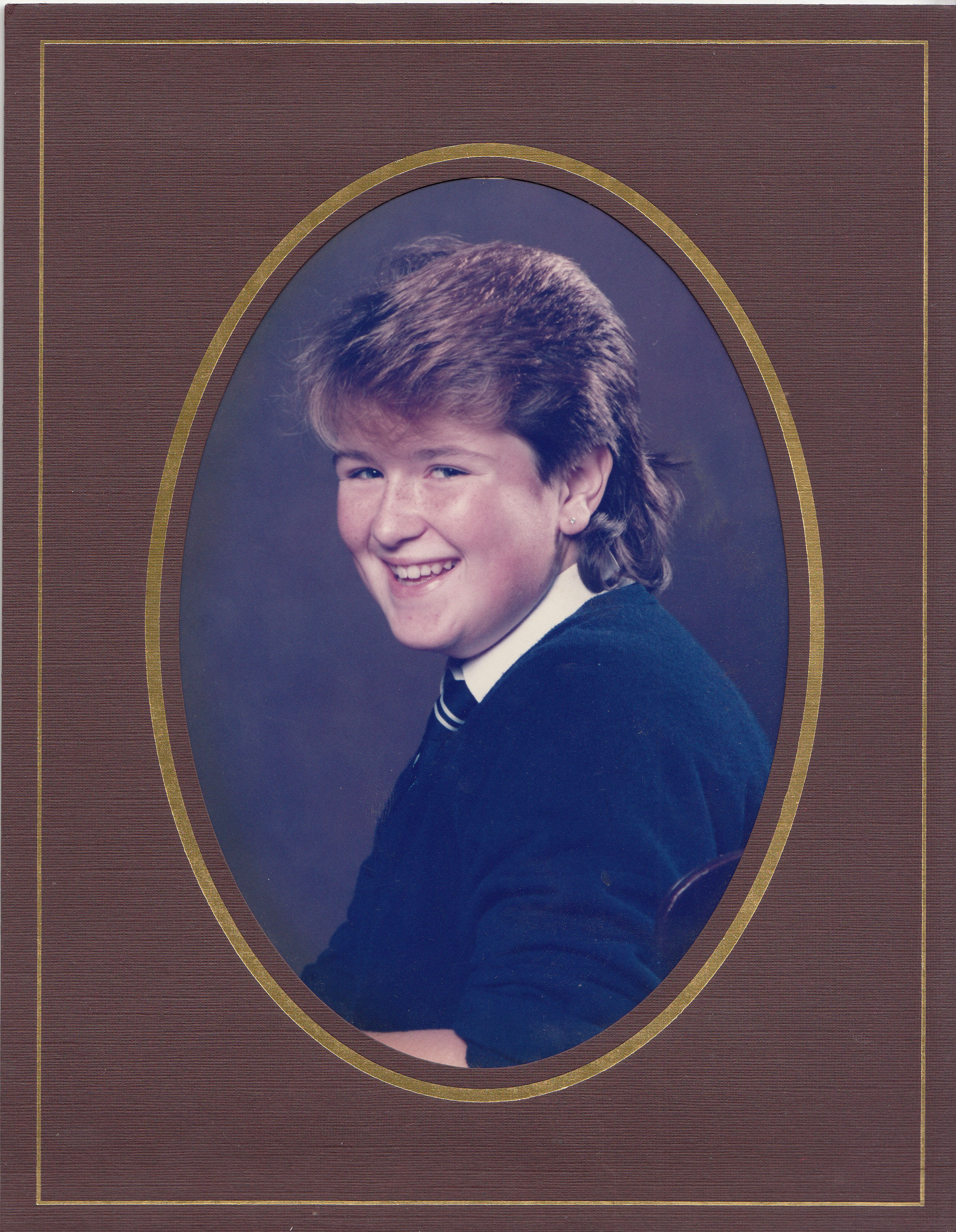 Denbigh High school photo - 1985
