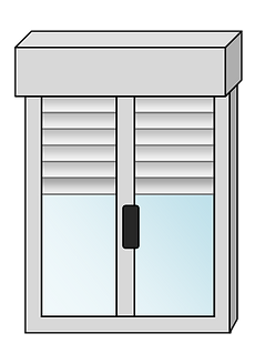 DURIEUX-FERMETURES-VOLET-ROULANT-BLOC-BAIE-ALUMINIUM-DESSIN