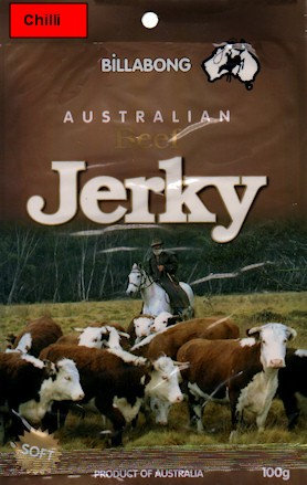Chilli Beef Jerky 100gm
