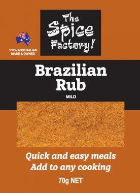 Brazilian Rub 70gm