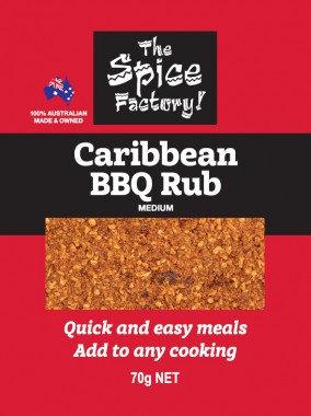 Caribbean BBQ Rub 70gm