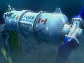 Canadian Government invests in Nova Scotia Tidal Energy Project