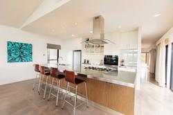Kitchen has all modern appliances