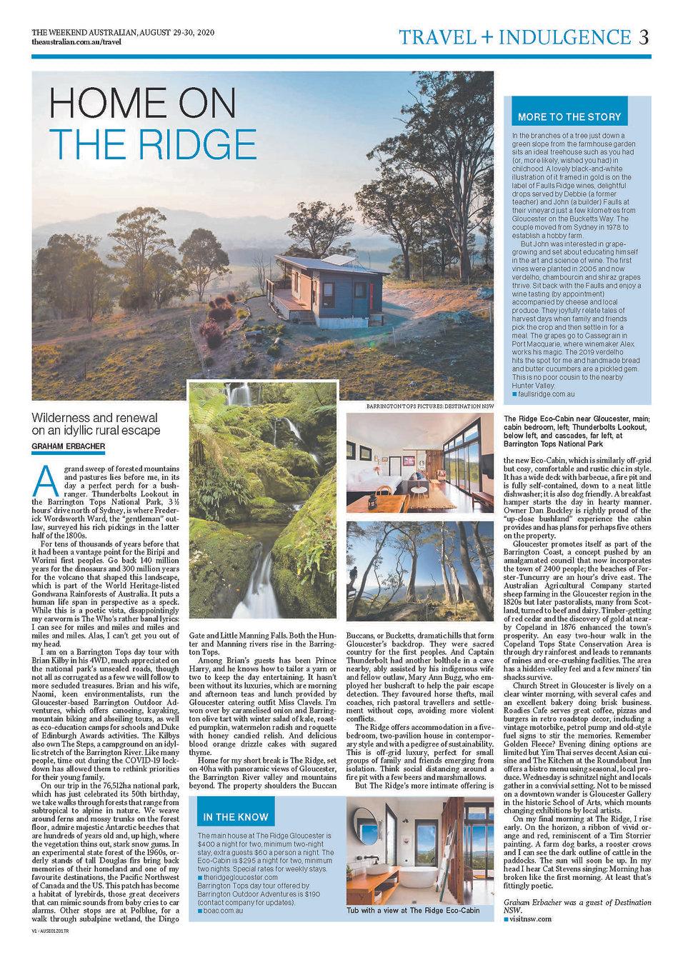 Travel & Indulgence Section Page 3 Weeke