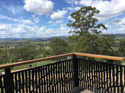 Panoramic views from Eco-Cabin deck