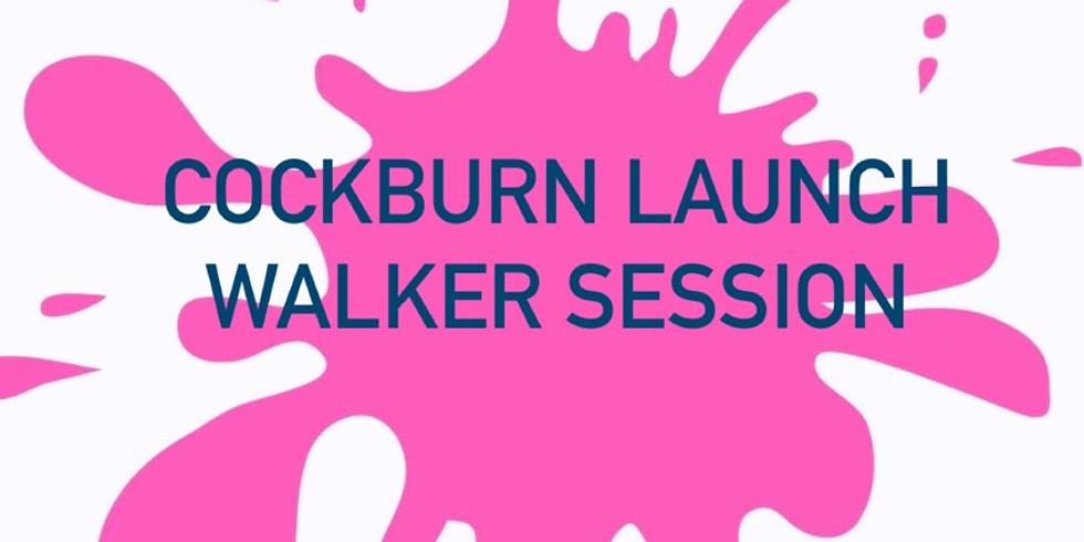 Messy Mat COCKBURN LAUNCH - WALKER SESSION