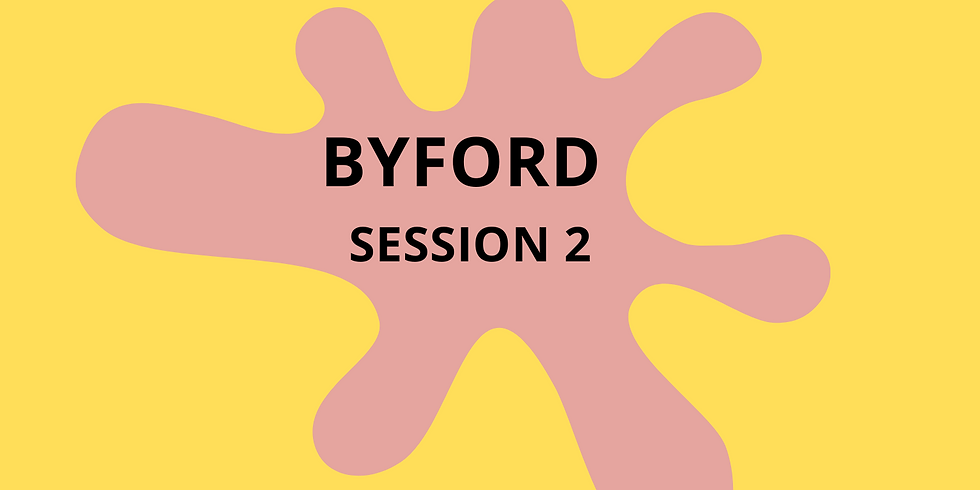 Messy Mat Byford - PEPPA PIG Session Two