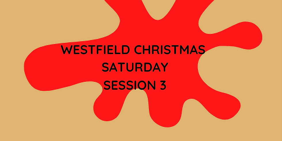 WESTFIELD CHRISTMAS SAT SESSION 3
