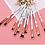 Thumbnail: Marble Makeup Brushes - Set of 3