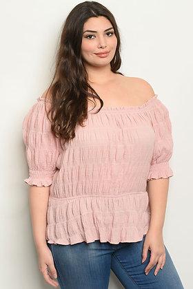Blush Plus Size Top