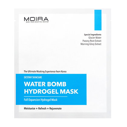MOIRA Water Bomb Hydrogel Mask - Pack of 5