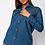 Thumbnail: Mid Blue Denim Shirt