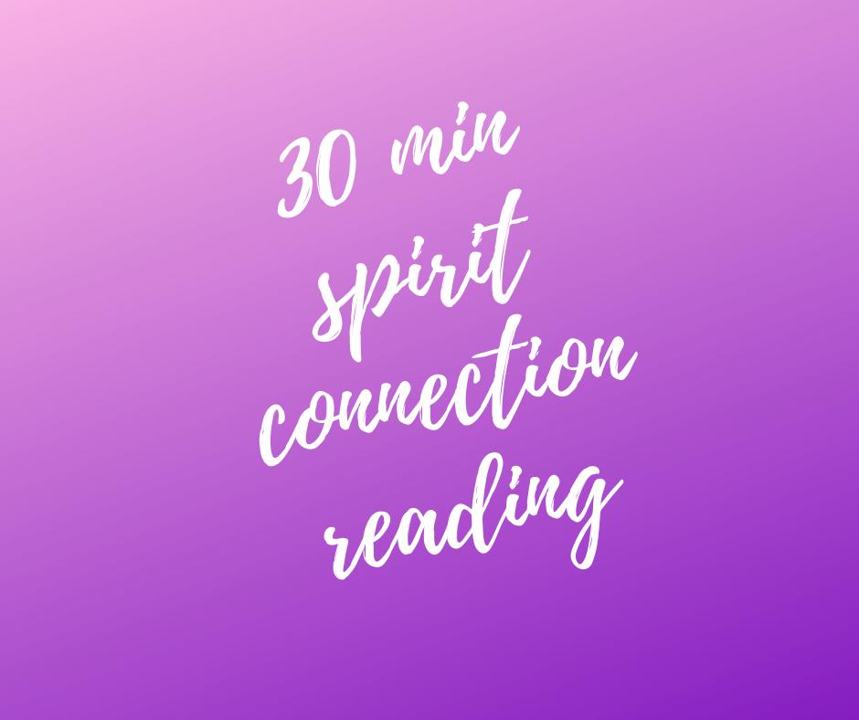 30 minute Mediumship Reading