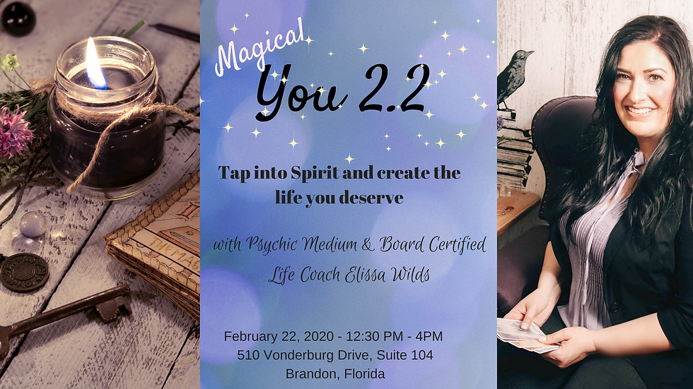 Magical you 2.2 day workshop