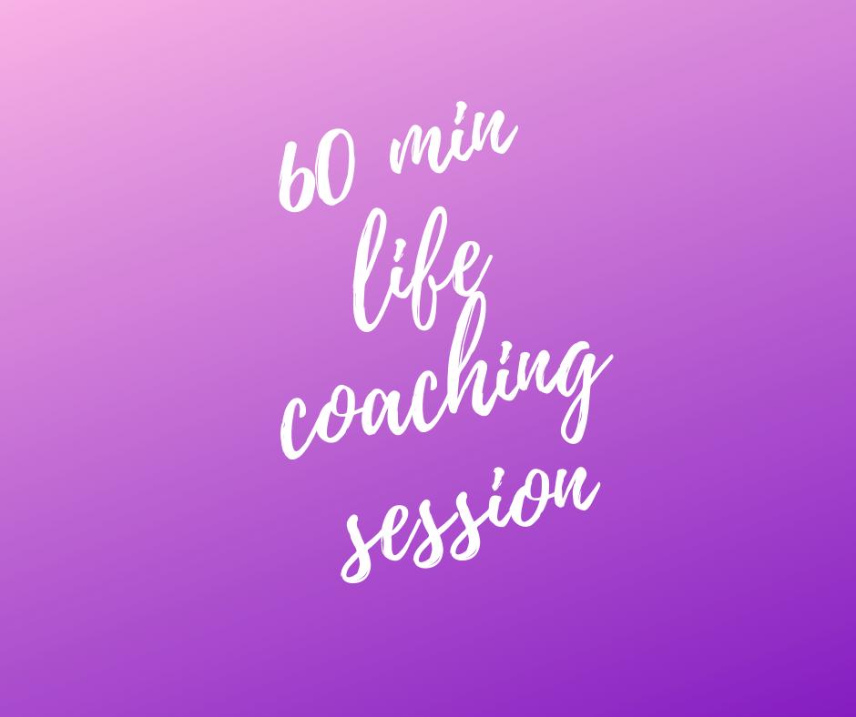 1 hour Life Coaching