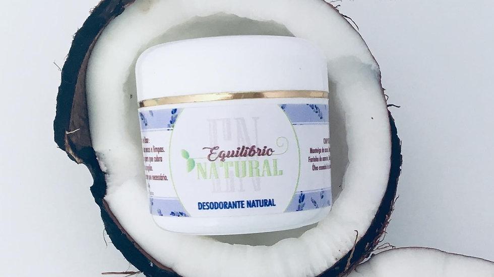 Desodorante Natural de Lavanda e Tea Tree