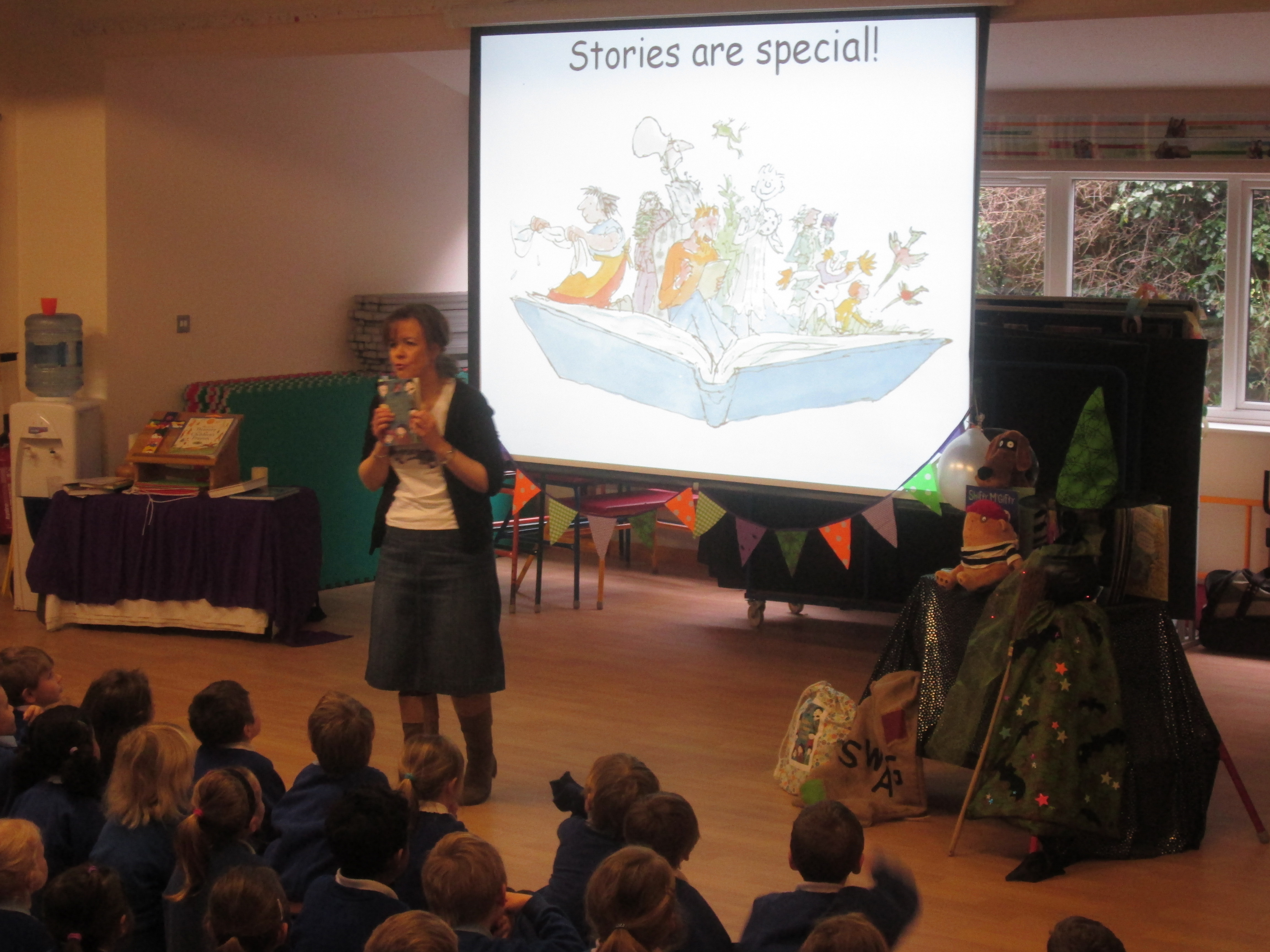 Author Tracey Corderoy Visits