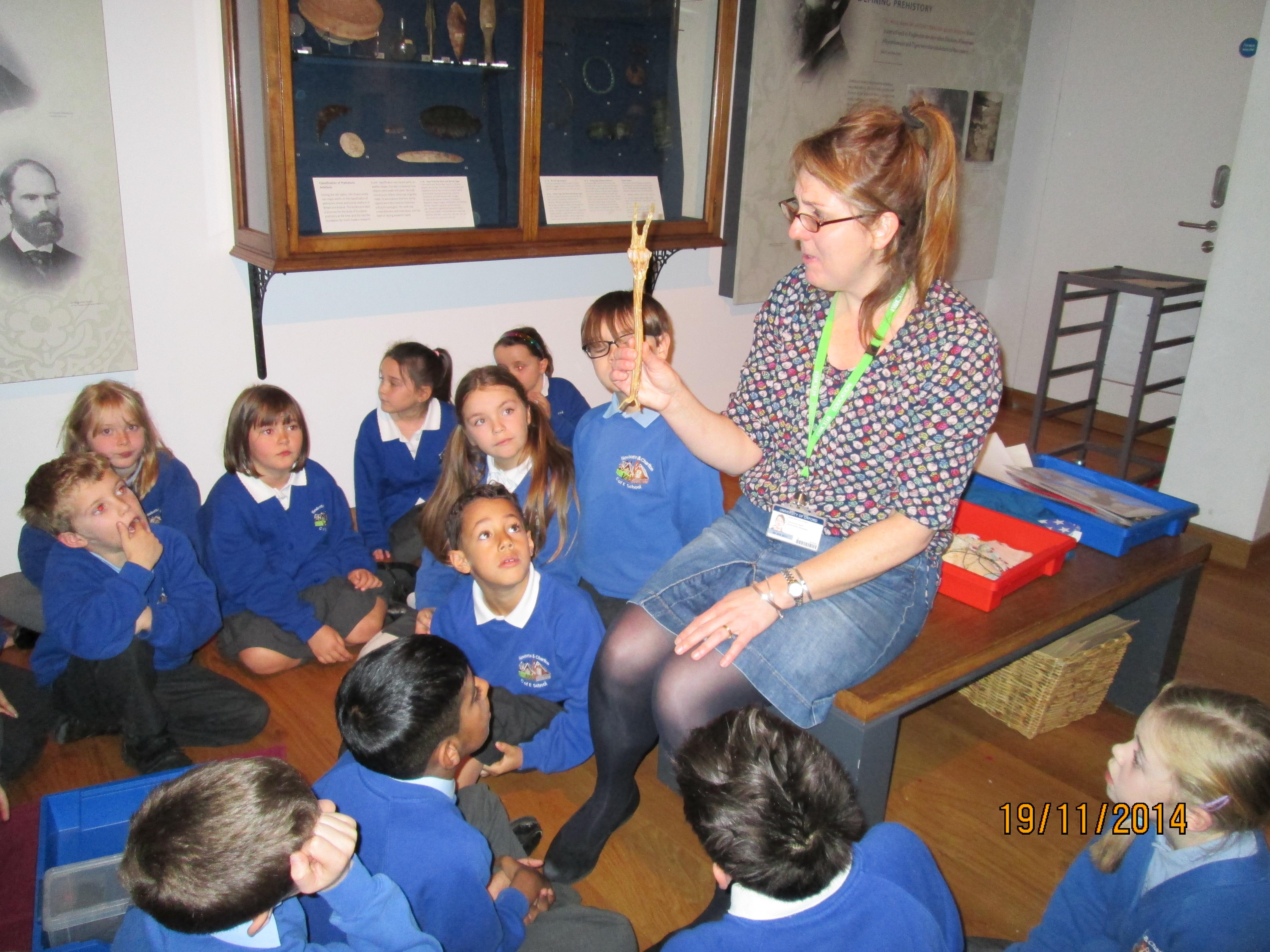 Class 3 trip to Ashmolean