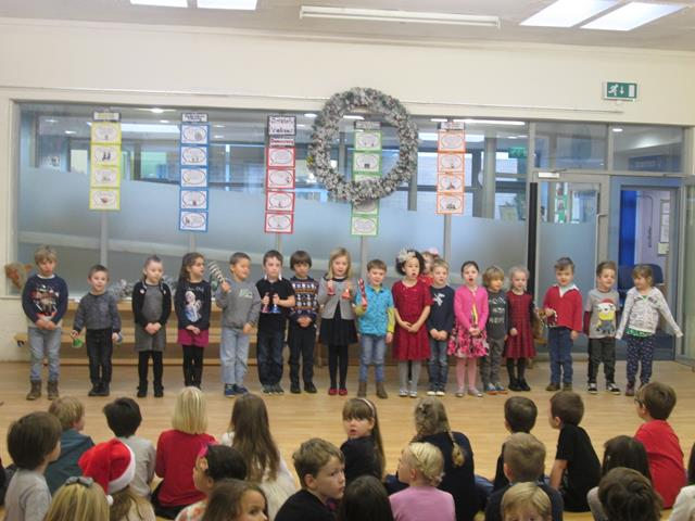 Christmas Class Singing