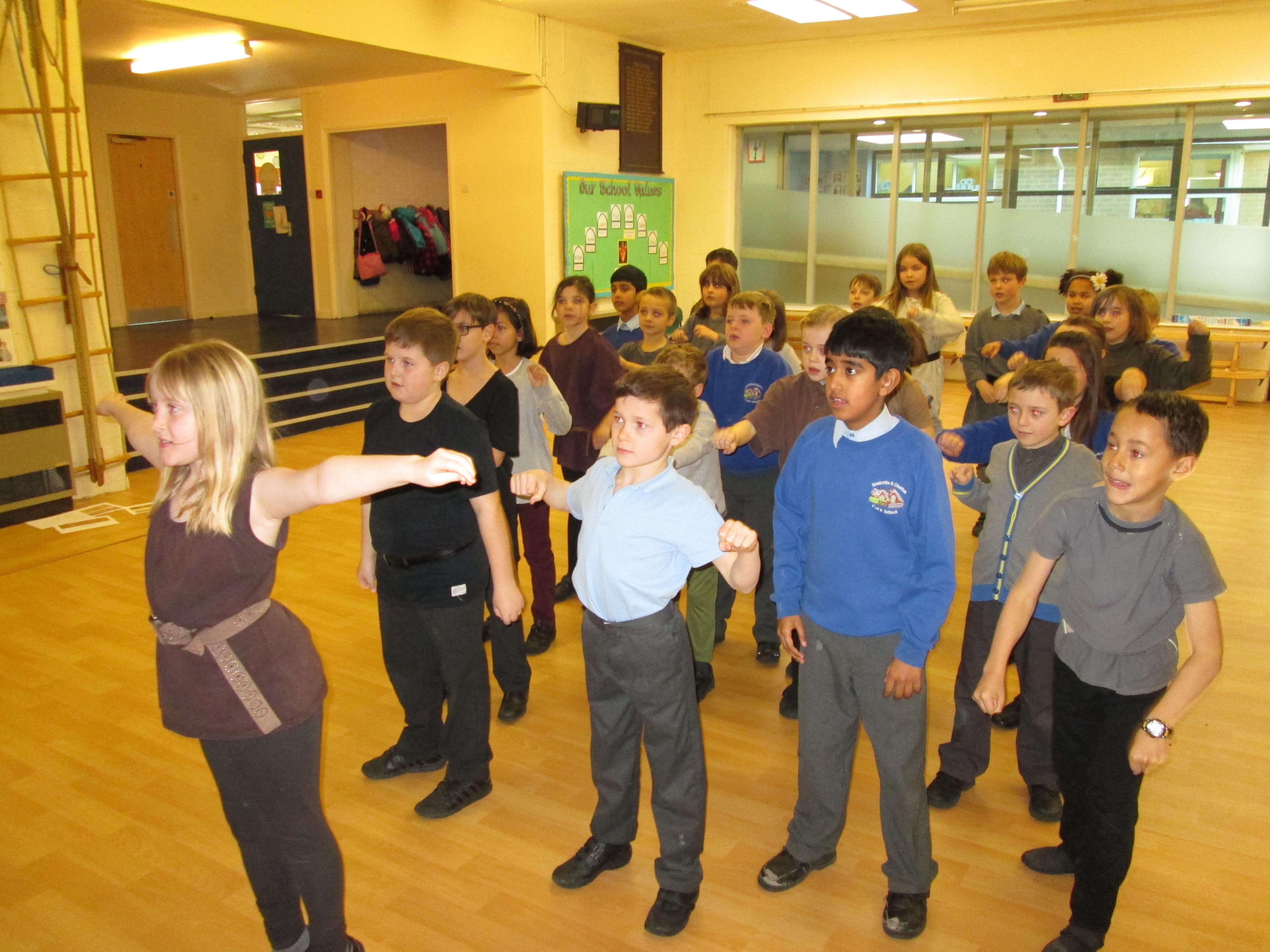 Dancer in School